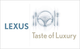 Lexus Taste of Luxury Logo